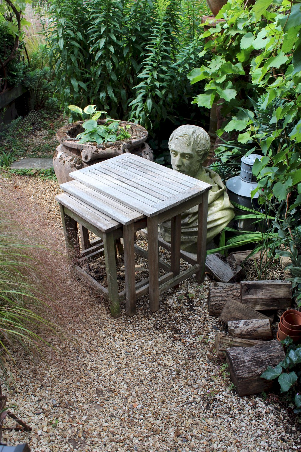 Antiques Atlas Vintage Set Of Garden Teak Nest Of Tables