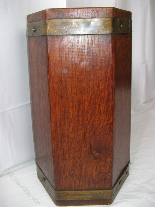 Arts And Crafts Period Stick Stand By R A Lister