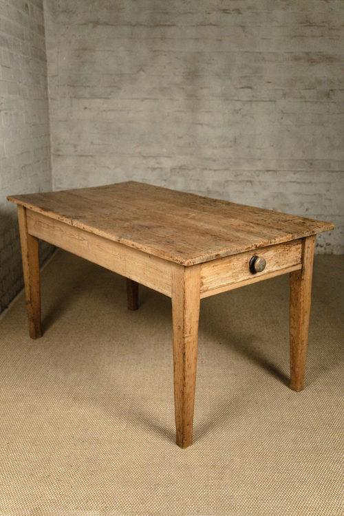 19th century pine kitchen table antiques atlas