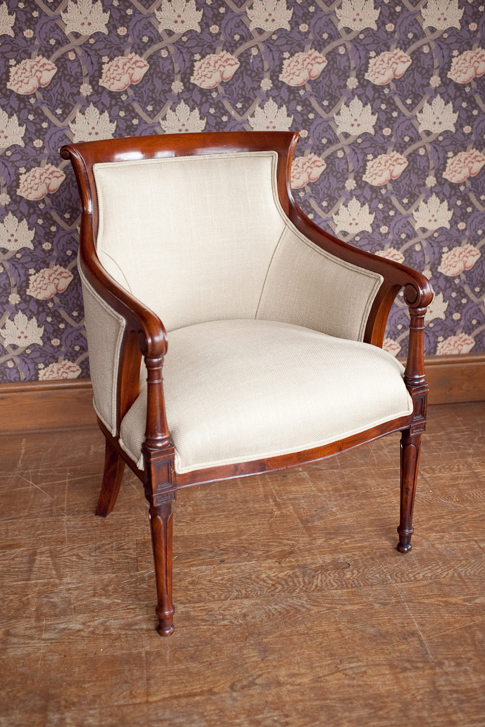Antiques Atlas - French Empire Style Armchair
