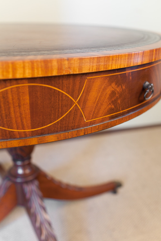 Antiques Atlas Mahogany Drum Table