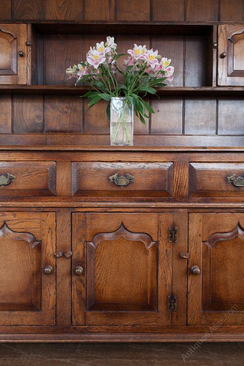 Antiques Atlas Oak Welsh Dresser