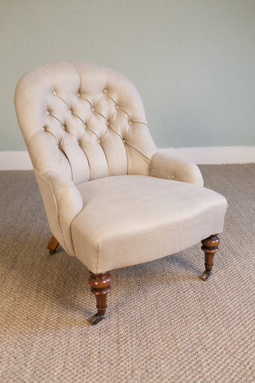 Victorian Button Back Chair Antiques Atlas