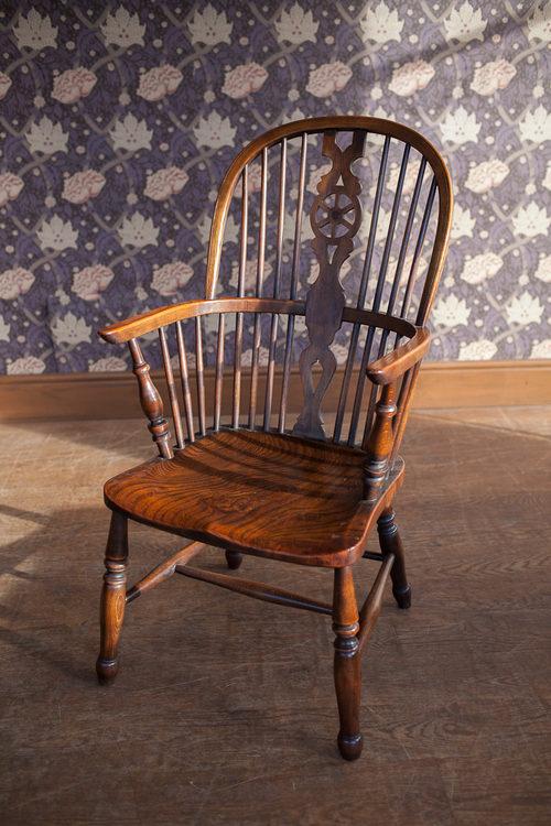 Antiques Atlas Windsor Wheel Back Arm Chair