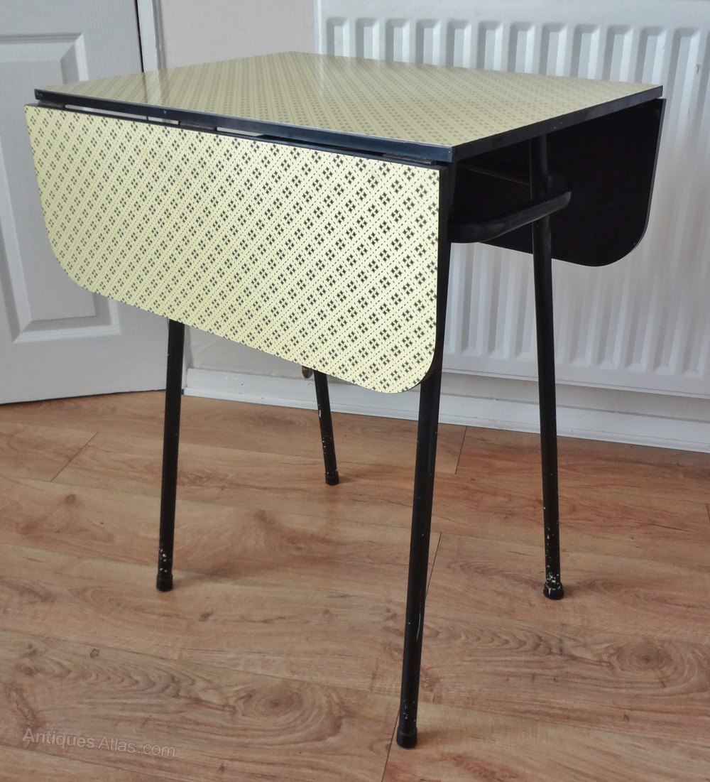 1950s Retro Formica Kitchen Table