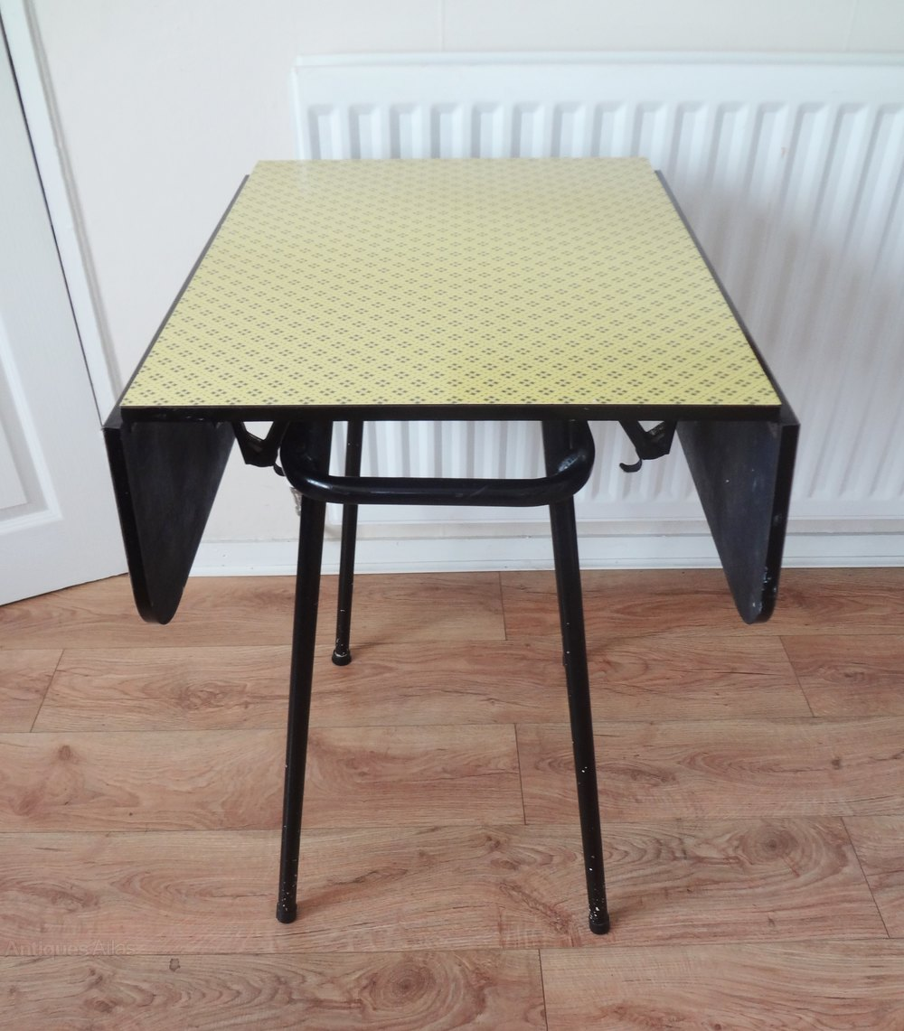 Retro Drop Leaf Kitchen Table