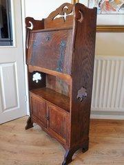 Arts  Crafts Bureau Bookcase