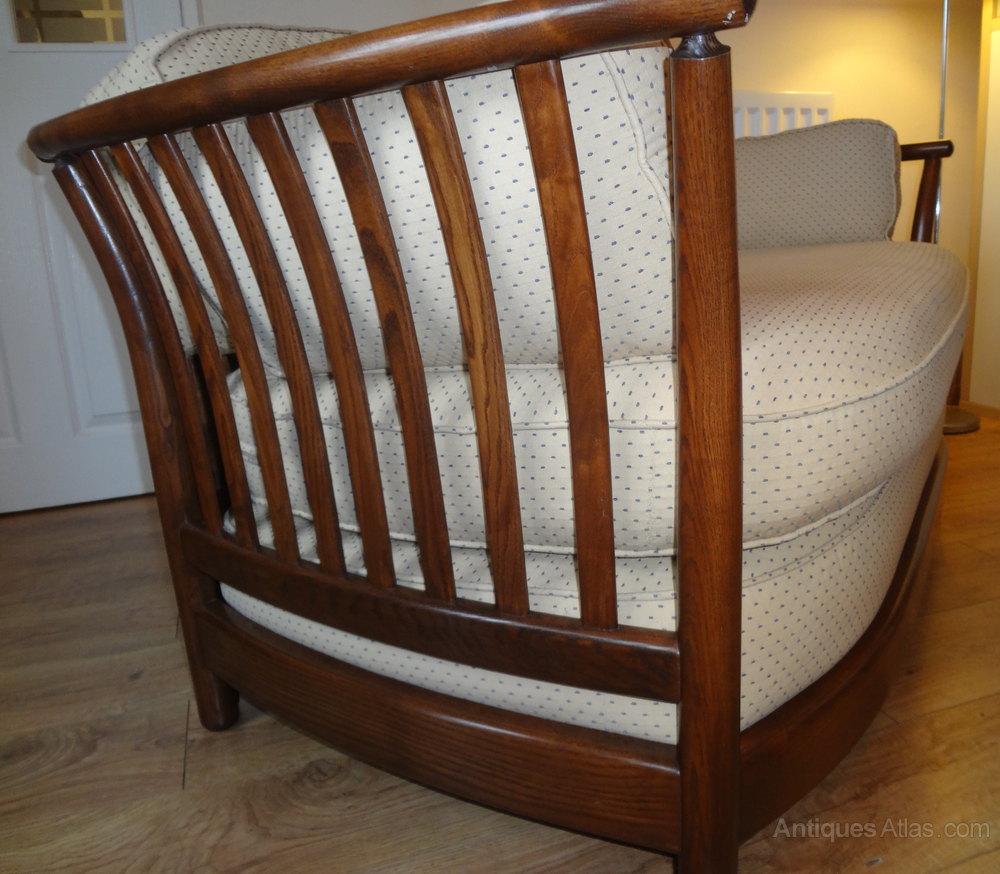Antique Ercol Sofa: Ercol Renaissance 2 Seater Sofa