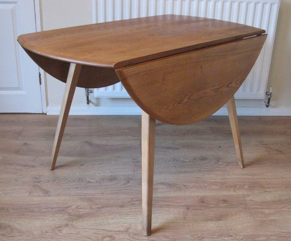Antiques atlas ercol table model 384 retro mid century for Retro dining table
