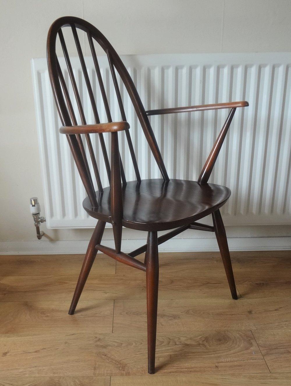 Antiques Atlas Ercol Windsor Quaker Carver Chairs