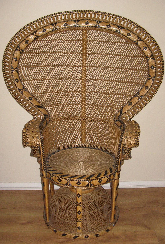 Antiques Atlas Fan Peacock Chair