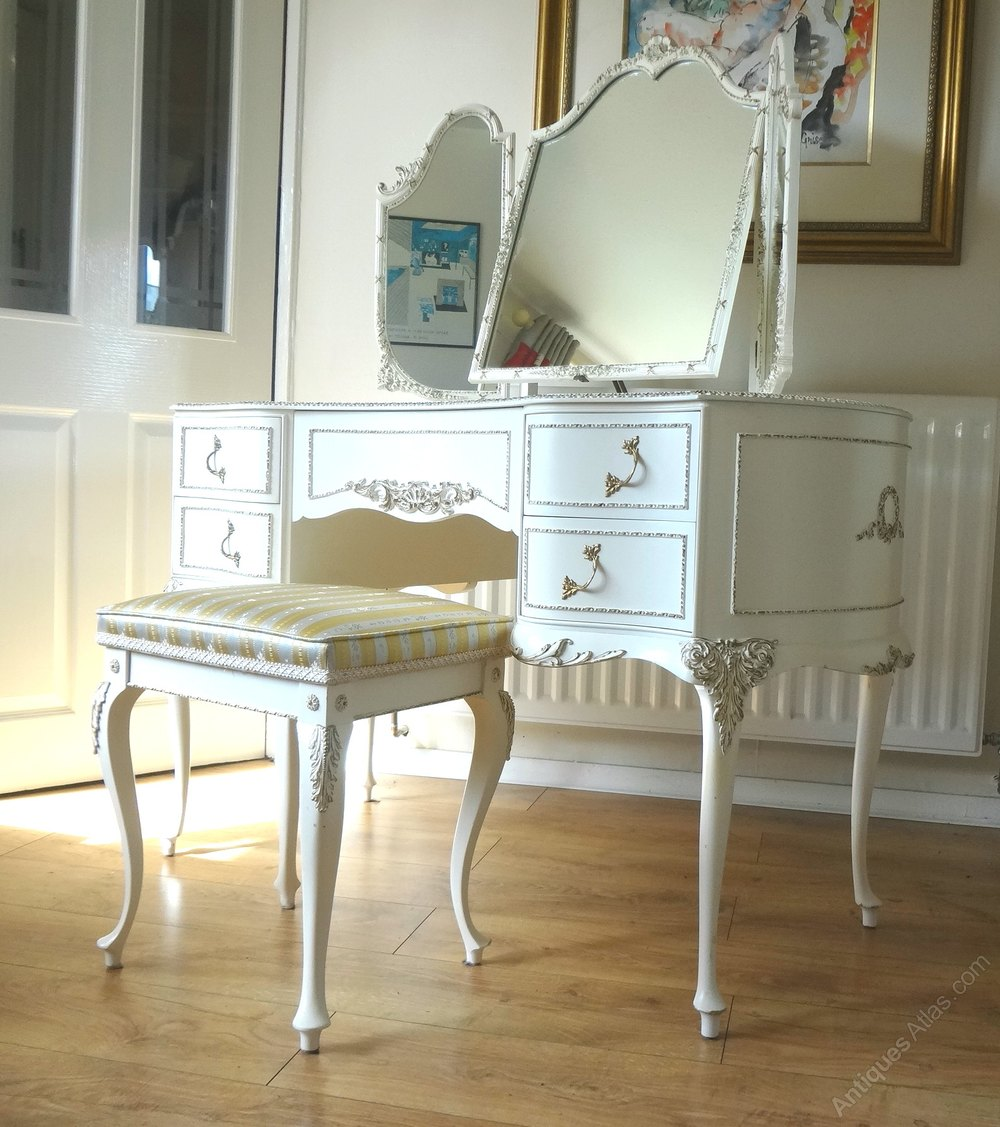 Antiques atlas louis dressing table - French Louis Dressing Table Stool