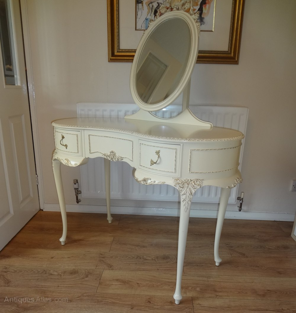 Antiques atlas french style painted dressing table