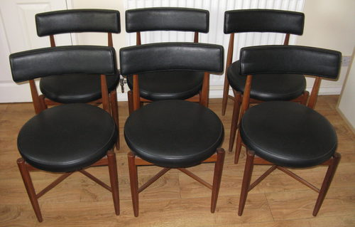 Antiques atlas 1960s g plan dining chairs for G plan teak dining room chairs