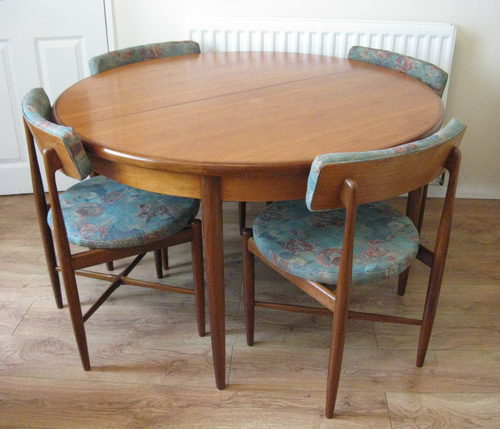 Antiques atlas g plan dining table chairs for G plan dining room furniture sale