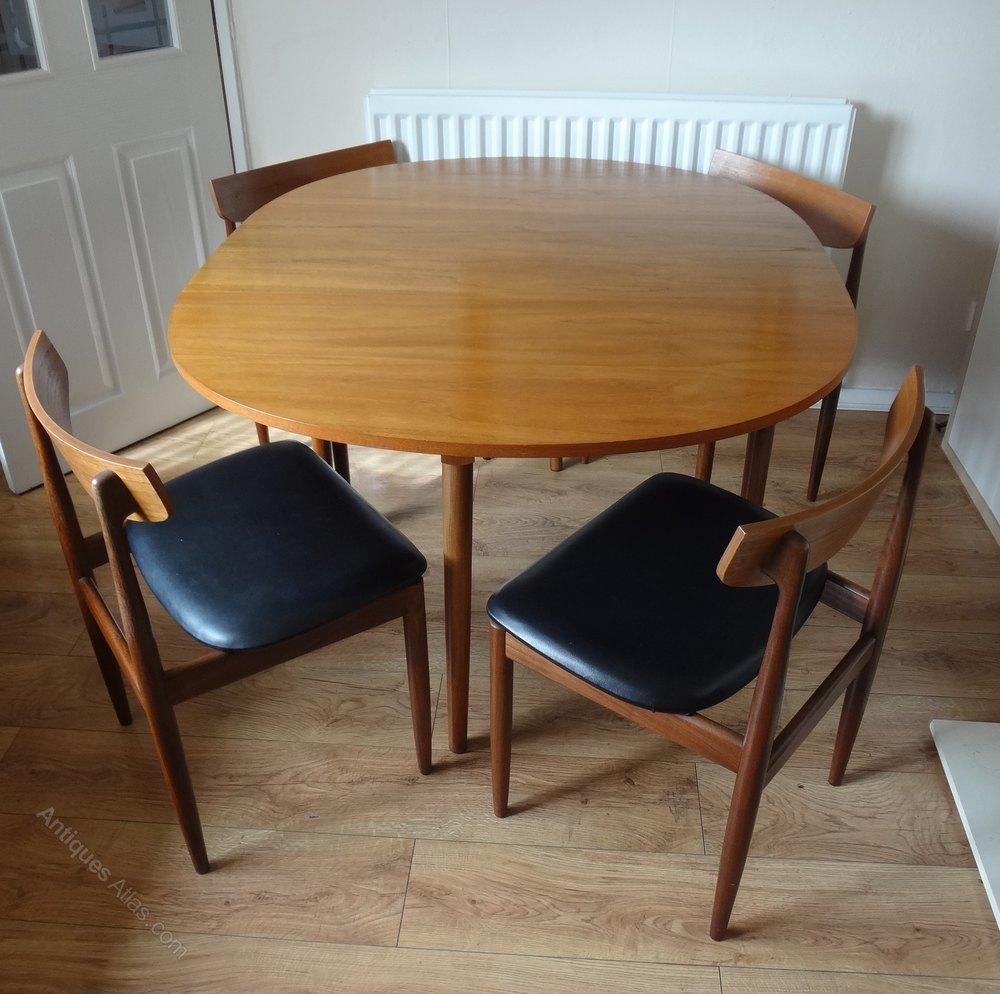 Antiques atlas g plan kofod larsen teak dining chairs for G plan teak dining room furniture