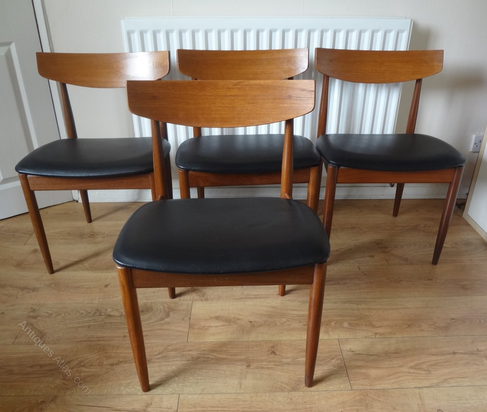 Antiques atlas g plan kofod larsen teak dining chairs for G plan dining room furniture sale