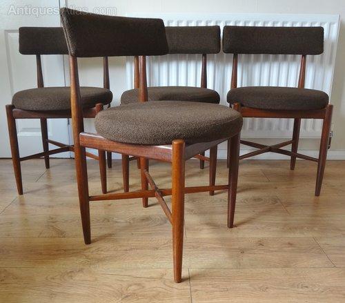 Antiques atlas g plan retro teak dining chairs for G plan teak dining room furniture