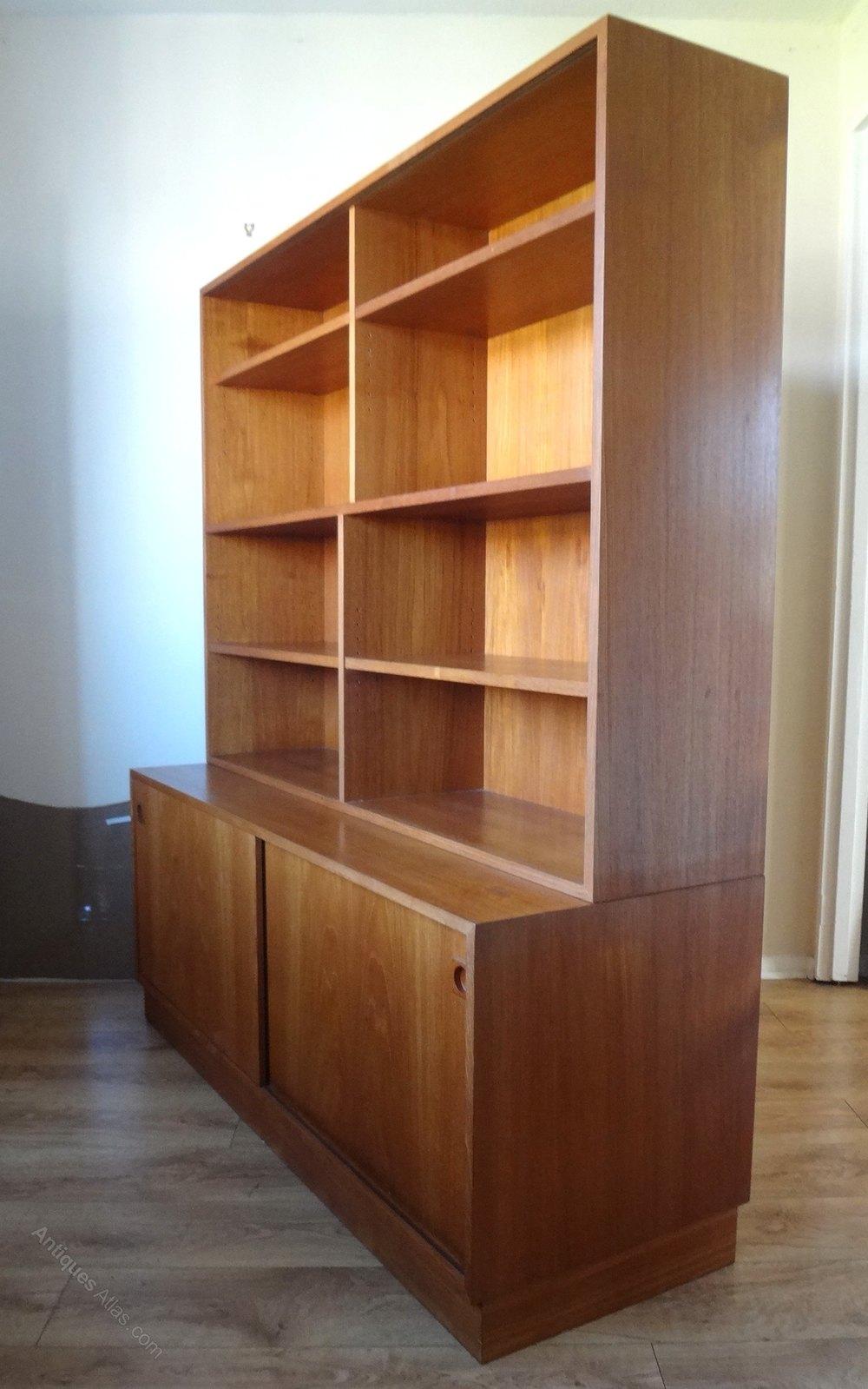 Antiques Atlas Mid Century Danish Teak Sideboard Bookcase