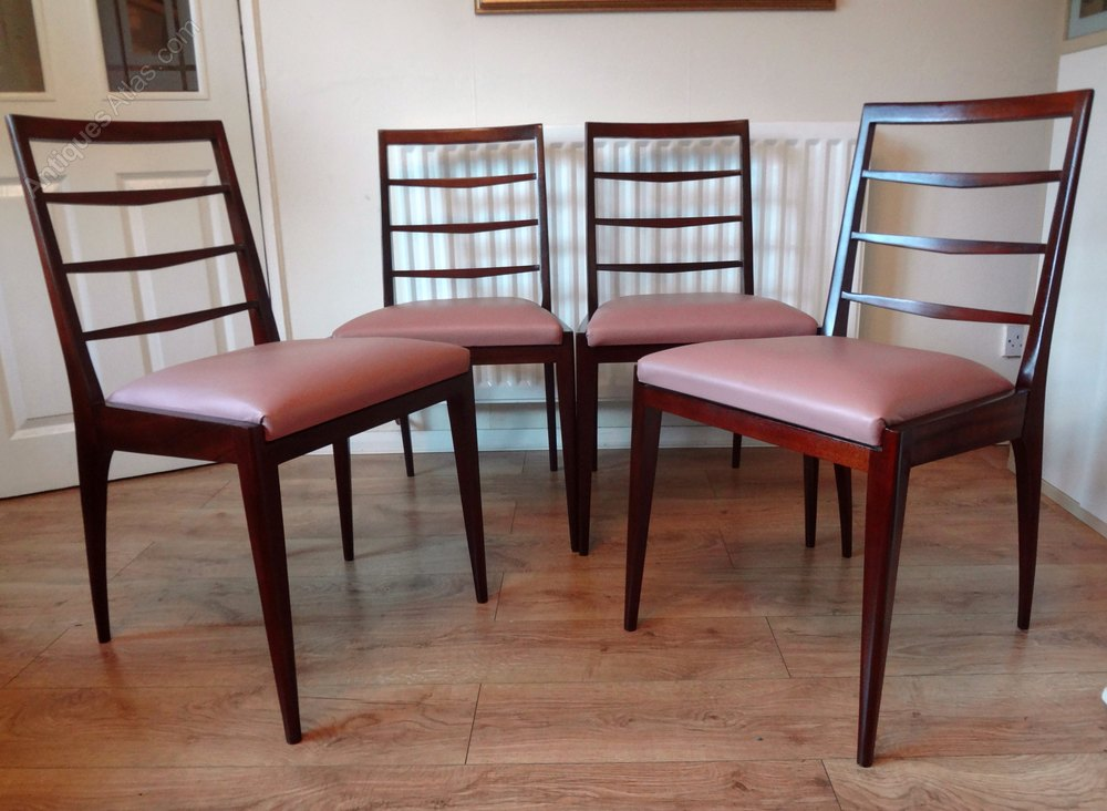 Antiques Atlas - Mid Century1960s Teak Dining Chairs By ...