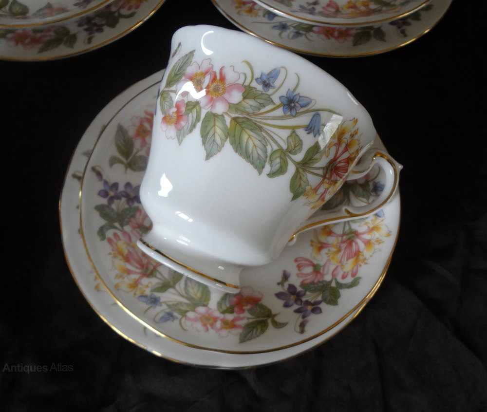 Antiques Atlas Paragon China Teaset Trios