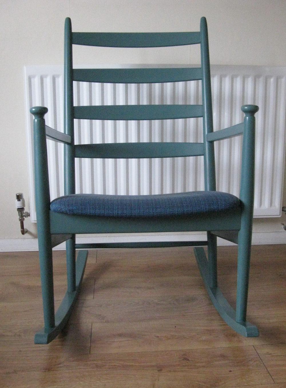 antiques atlas retro danish rocking chair niels eilersen. Black Bedroom Furniture Sets. Home Design Ideas