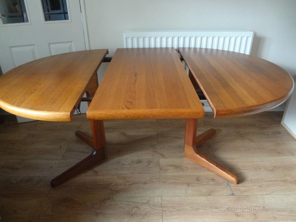Antiques Atlas Retro Danish Teak Dining Table By