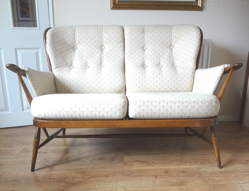 Antiques atlas retro ercol windsor golden dawn sofa Retro loveseats