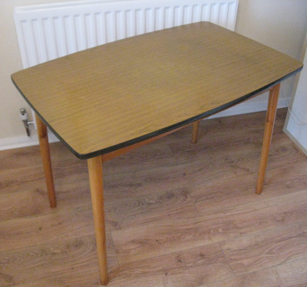Antiques atlas retro formica table chairs set for Vintage formica table