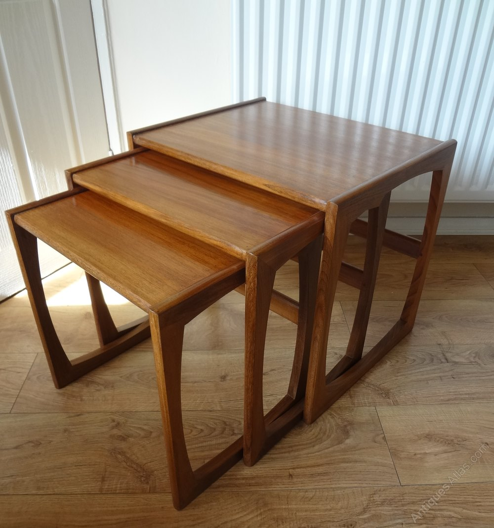 G Plan Vintage Coffee Tables: Retro G Plan Nest Of Coffee Tables