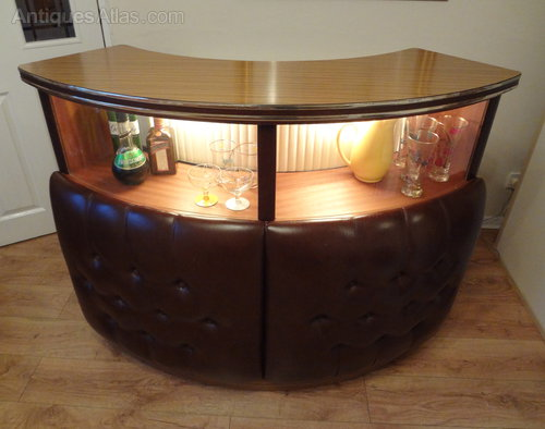 Antiques Atlas Retro Mid Century Home Cocktail Bar