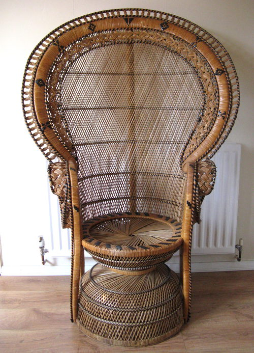 Antiques Atlas Retro Peacock Chair