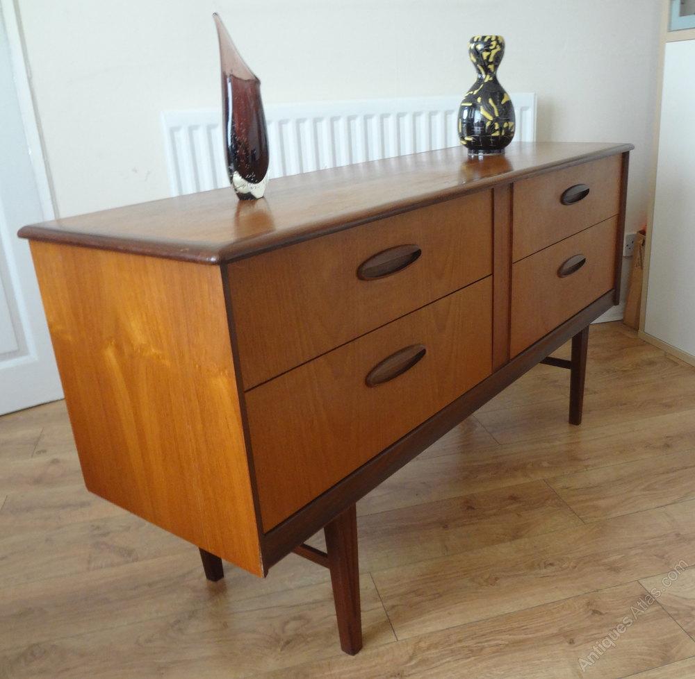 Antiques atlas retro teak dressing table sideboard for Retro dressing table
