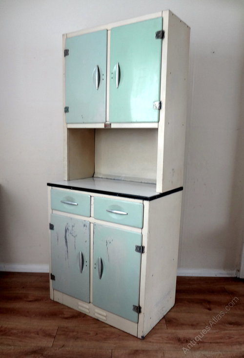 Antiques atlas retro kitchen larder cupboard for Antique free standing kitchen cabinets