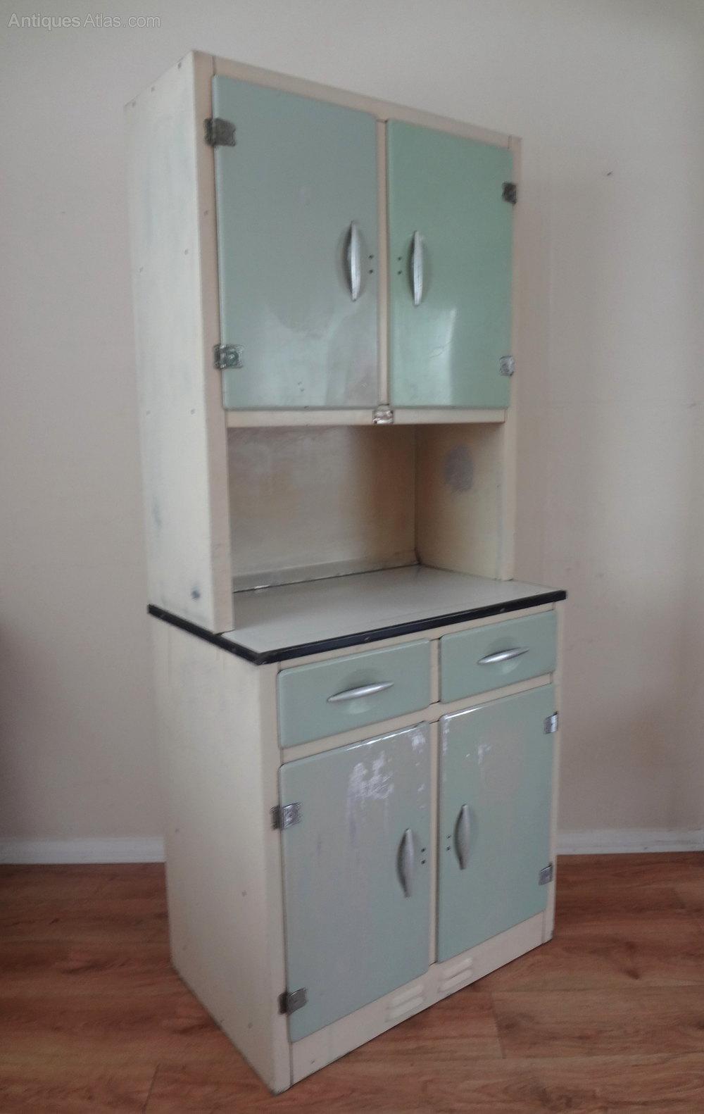 Antiques atlas retro kitchen larder cupboard for Kitchen in a cupboard
