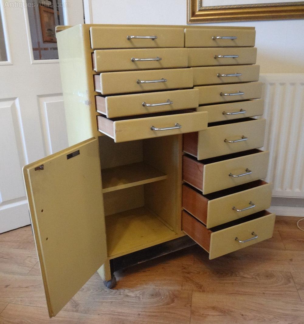 Antiques Atlas - Vintage 1950s Dentists Cabinet