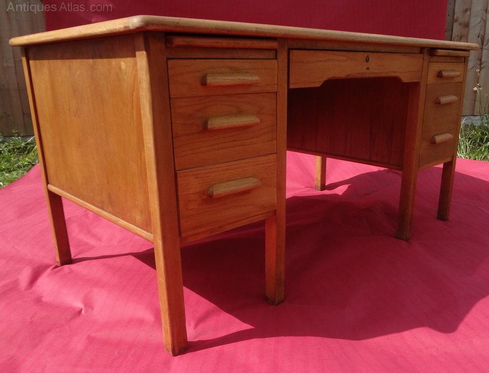 Antiques atlas vintage oak office desk - Antique office desk ...