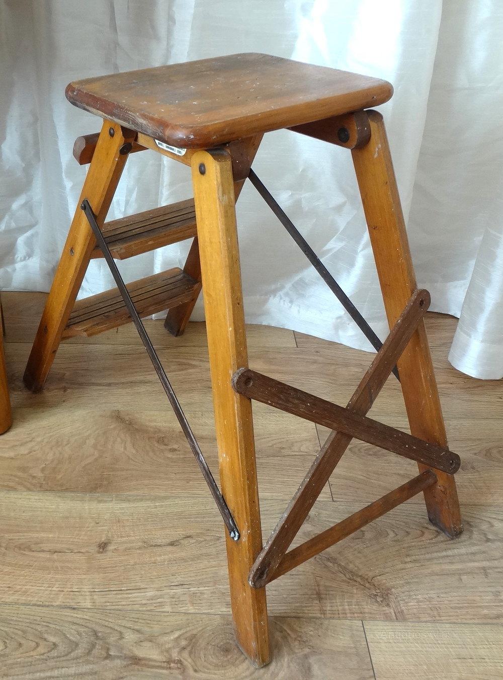Vintage Slingsby Step Ladder Antiques Atlas