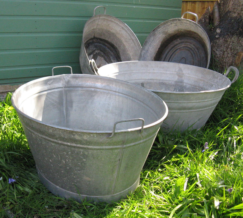 Antiques Atlas Vintage Tin Baths