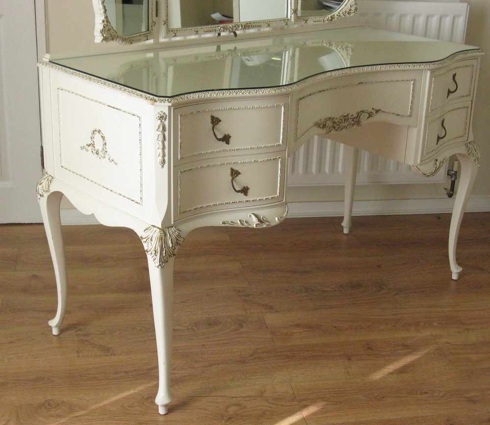 Antiques atlas french louis painted dressing table