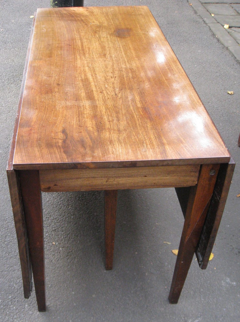 large georgian mahogany dining table antiques atlas
