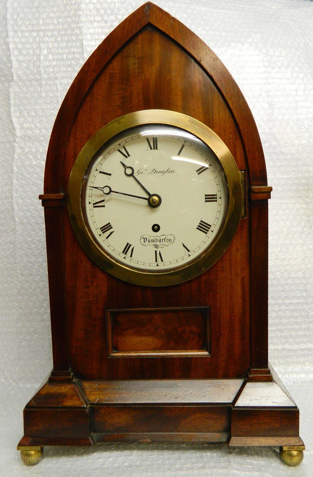 Antiques Atlas Scottish Lancet Top Bracket Clock
