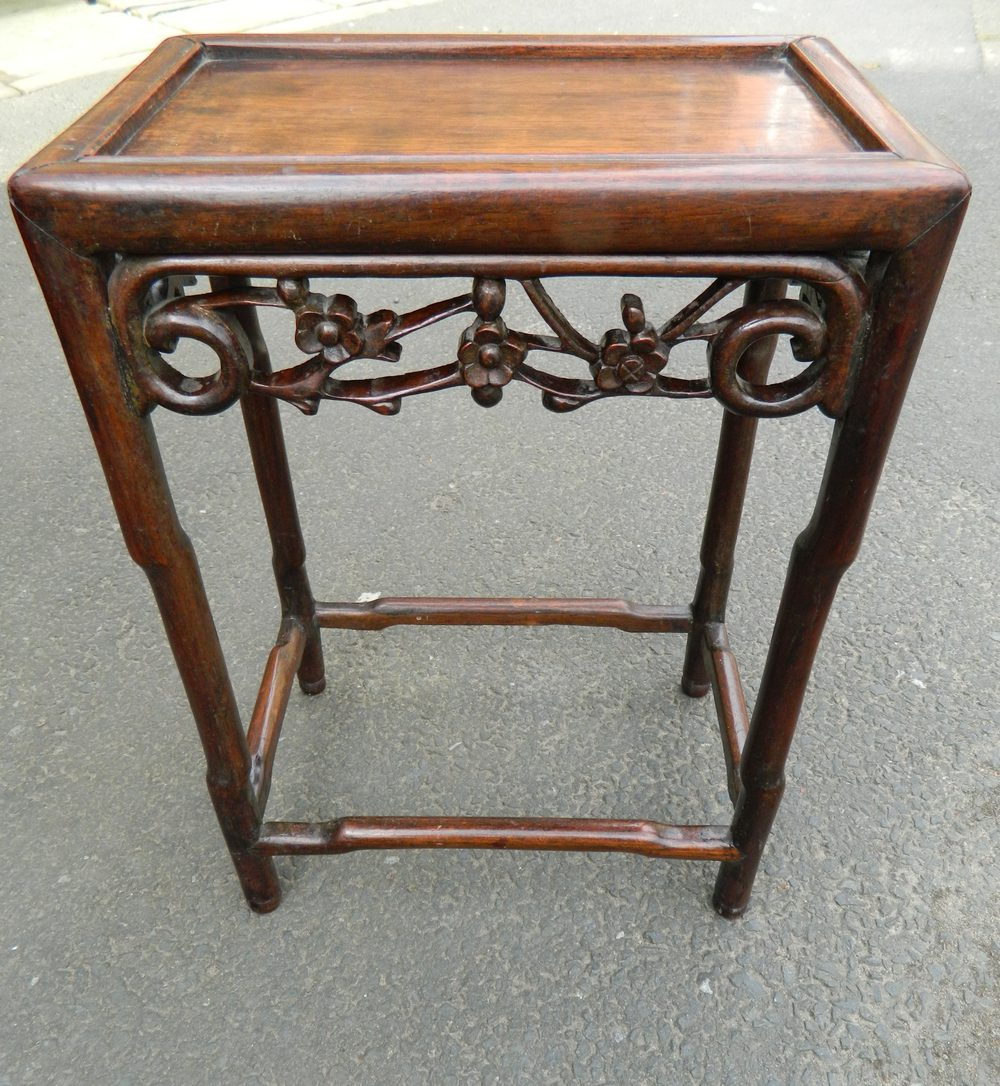 Chinese padouk wood table antiques atlas