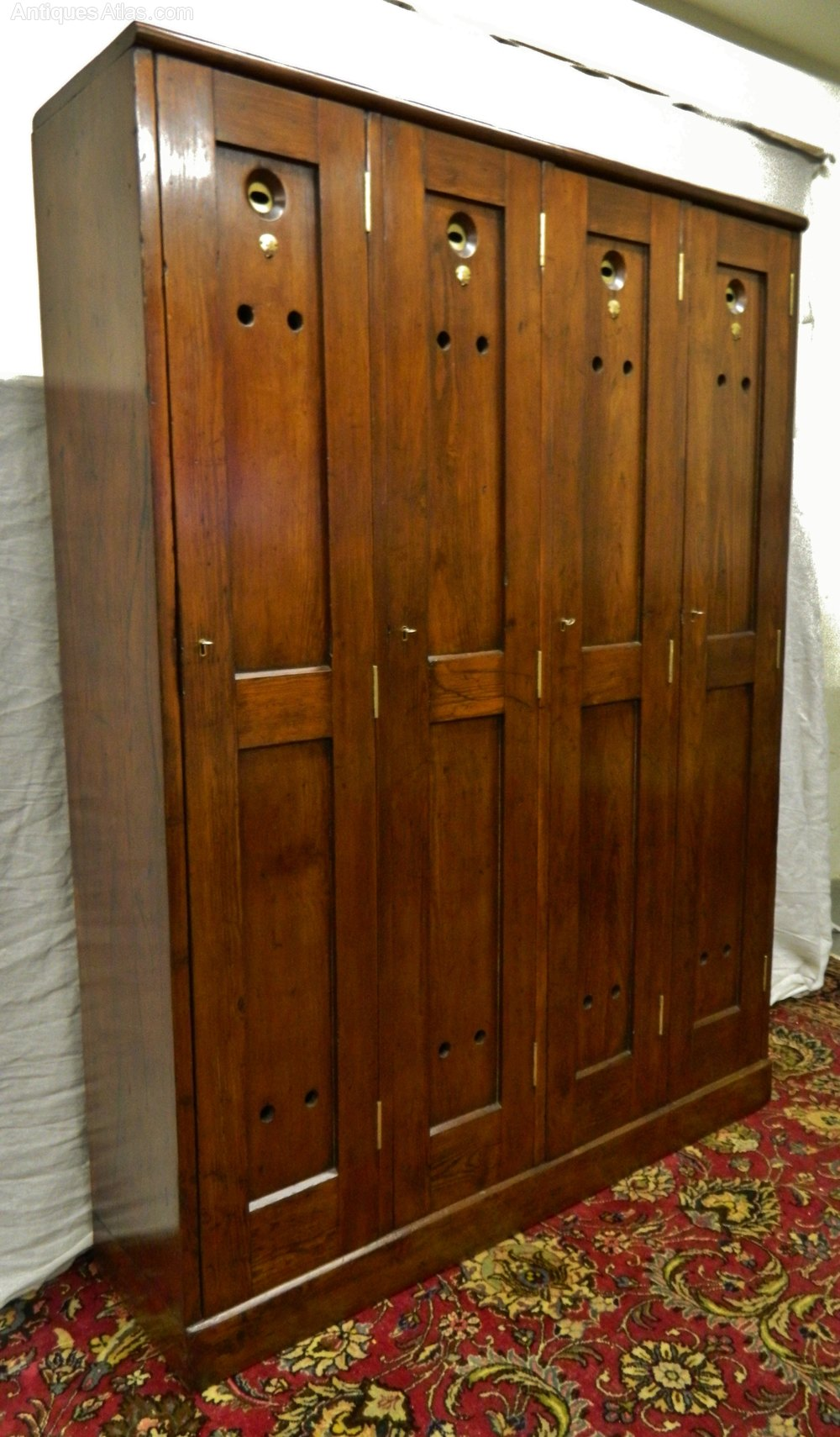 Four Door Golf Locker Antiques Atlas