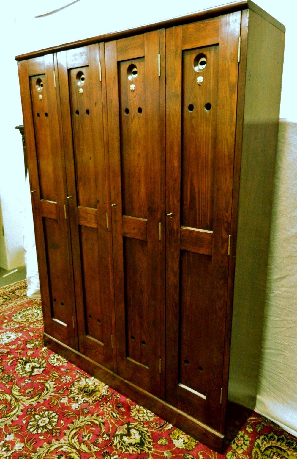 Four Door Golf Locker Antiques Atlas