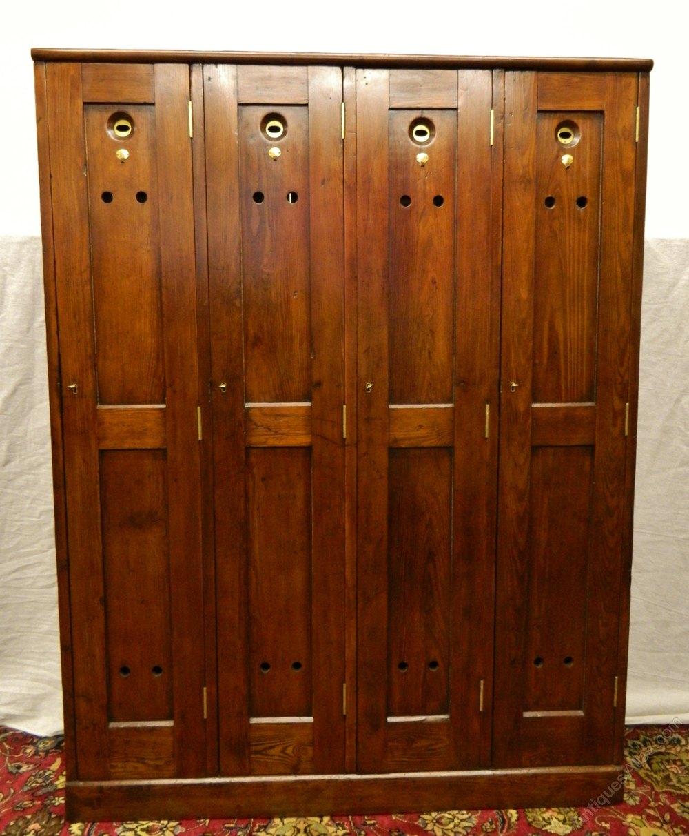 four door golf locker