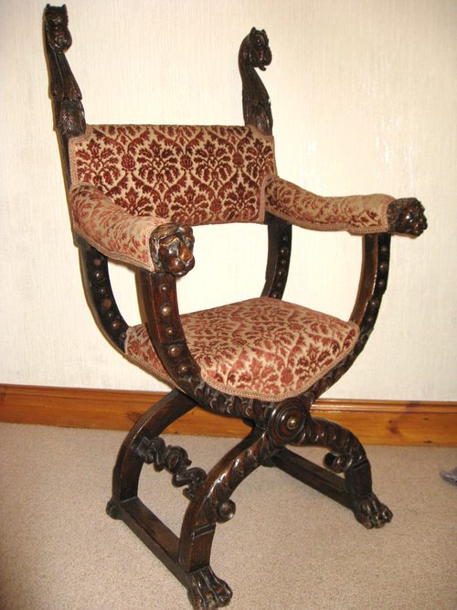 As136a429 on rocking chair back rests