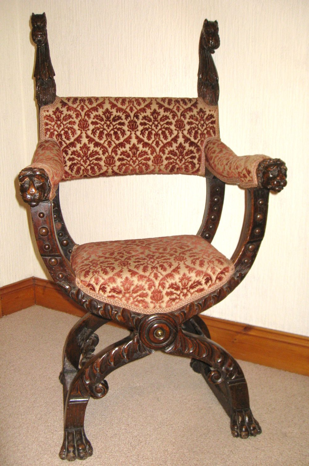 Gothic Carved Oak Chair Antiques Atlas