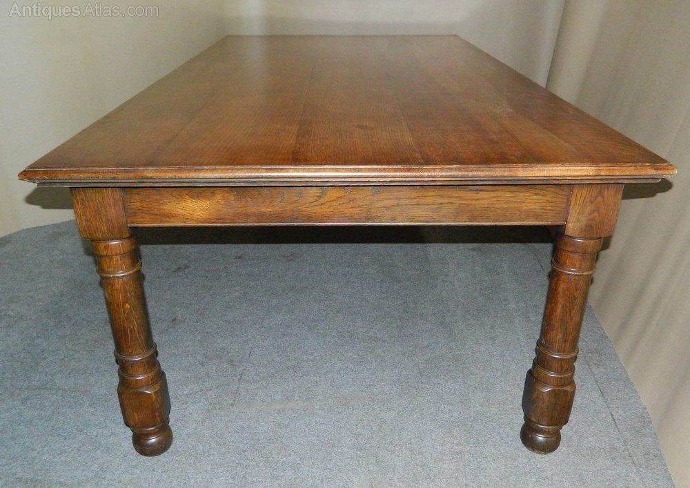large oak kitchen table dining table antiques atlas