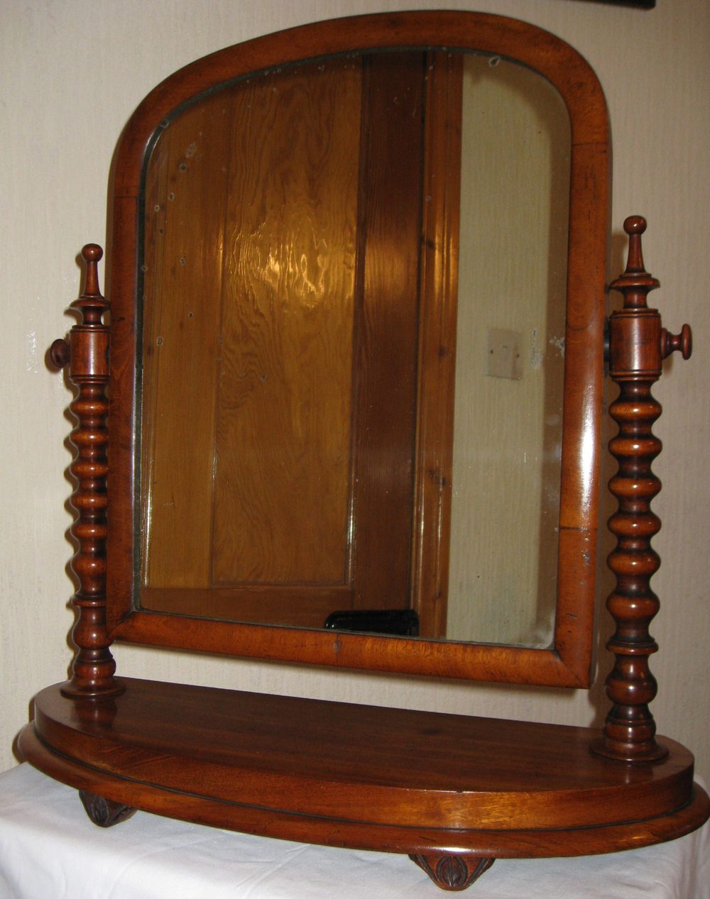 Antiques atlas mahogany dressing table mirror